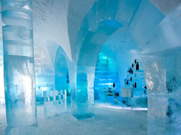Icebar in Sweden