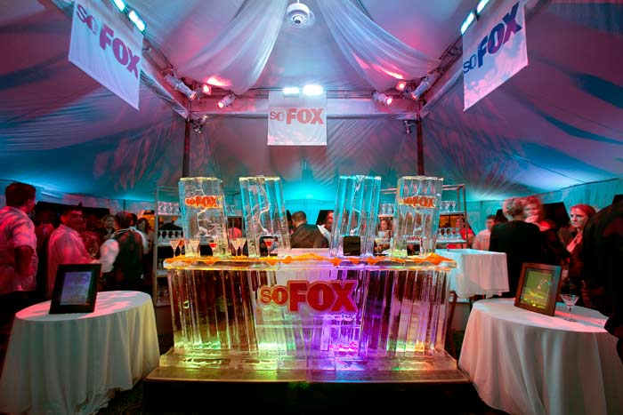 Fox TV Ice Bar
