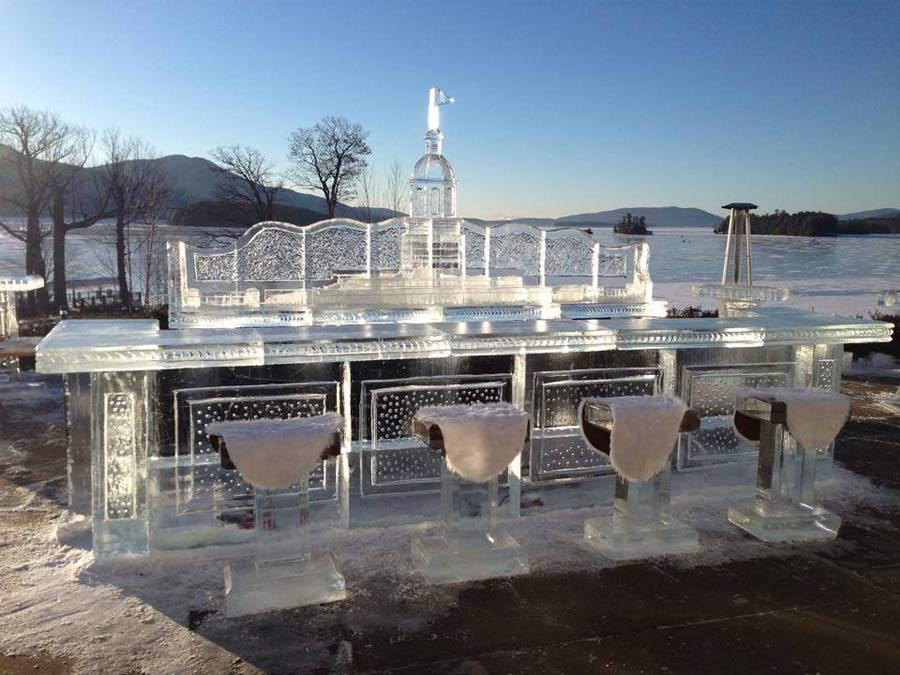 Ice Bar Lake George