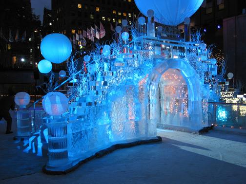 Ice Bridge Rockefeller Center