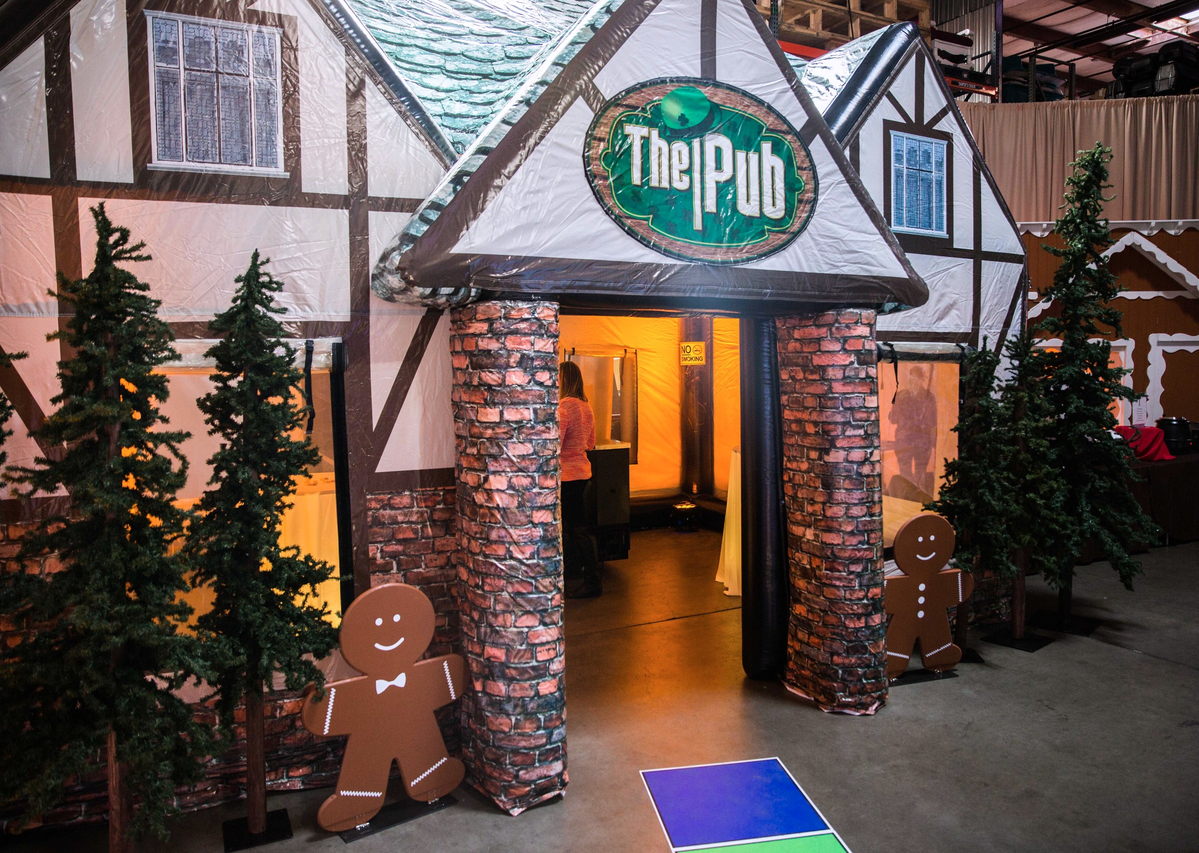 Inflatable Pub Tavern Rental National Event Pros