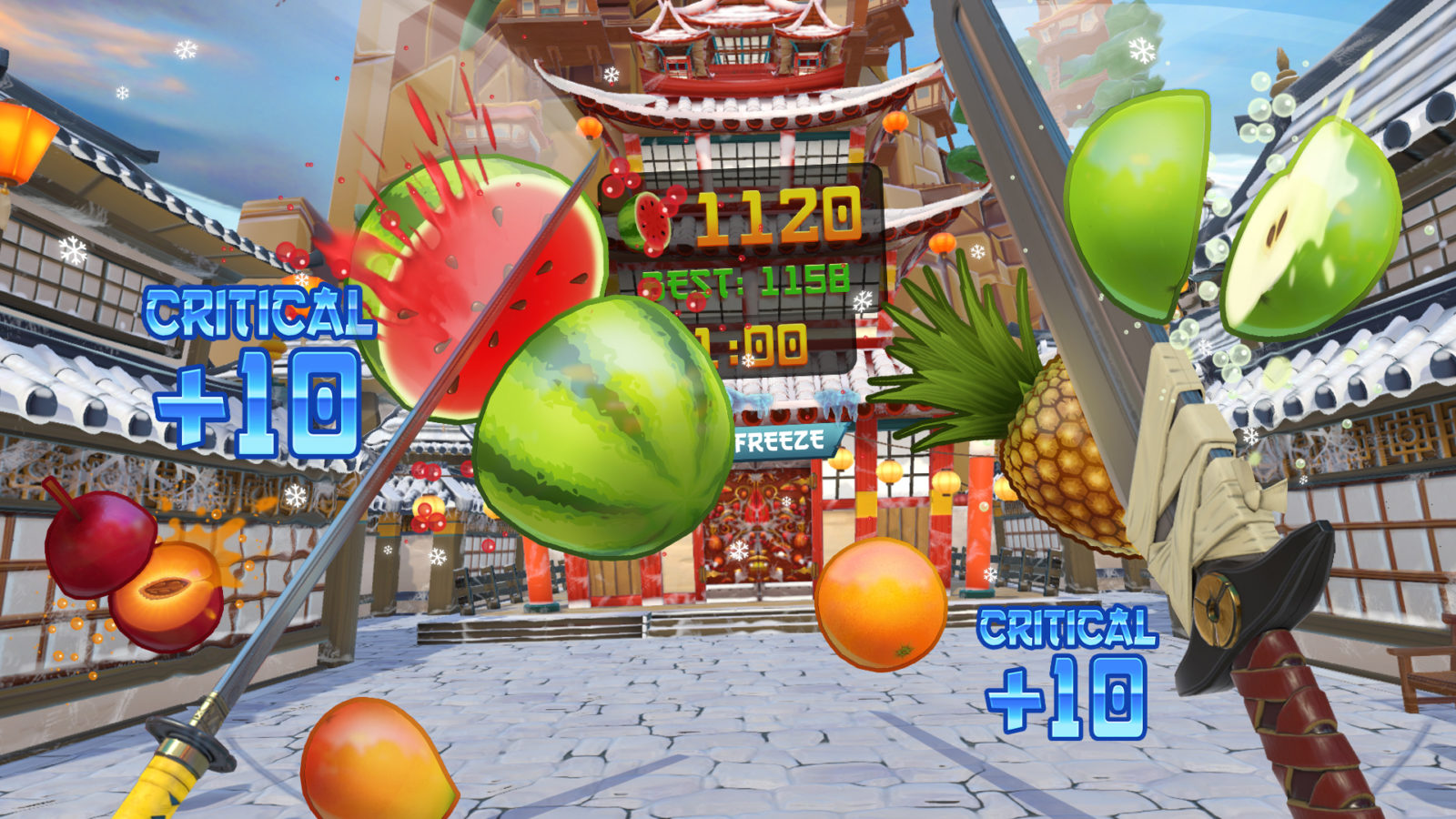 fruit ninja vr rental