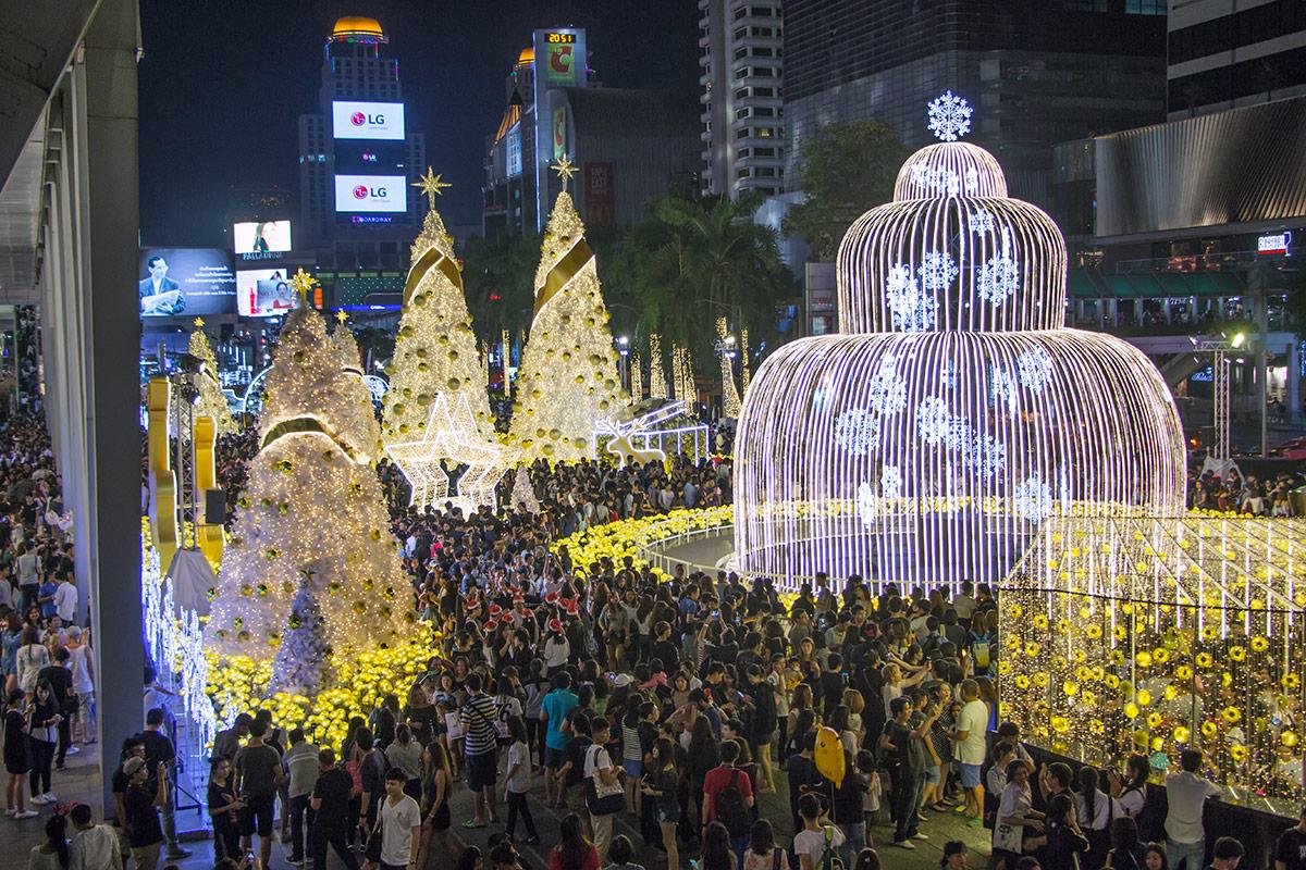 Bangkok Thailand Christmas Tree