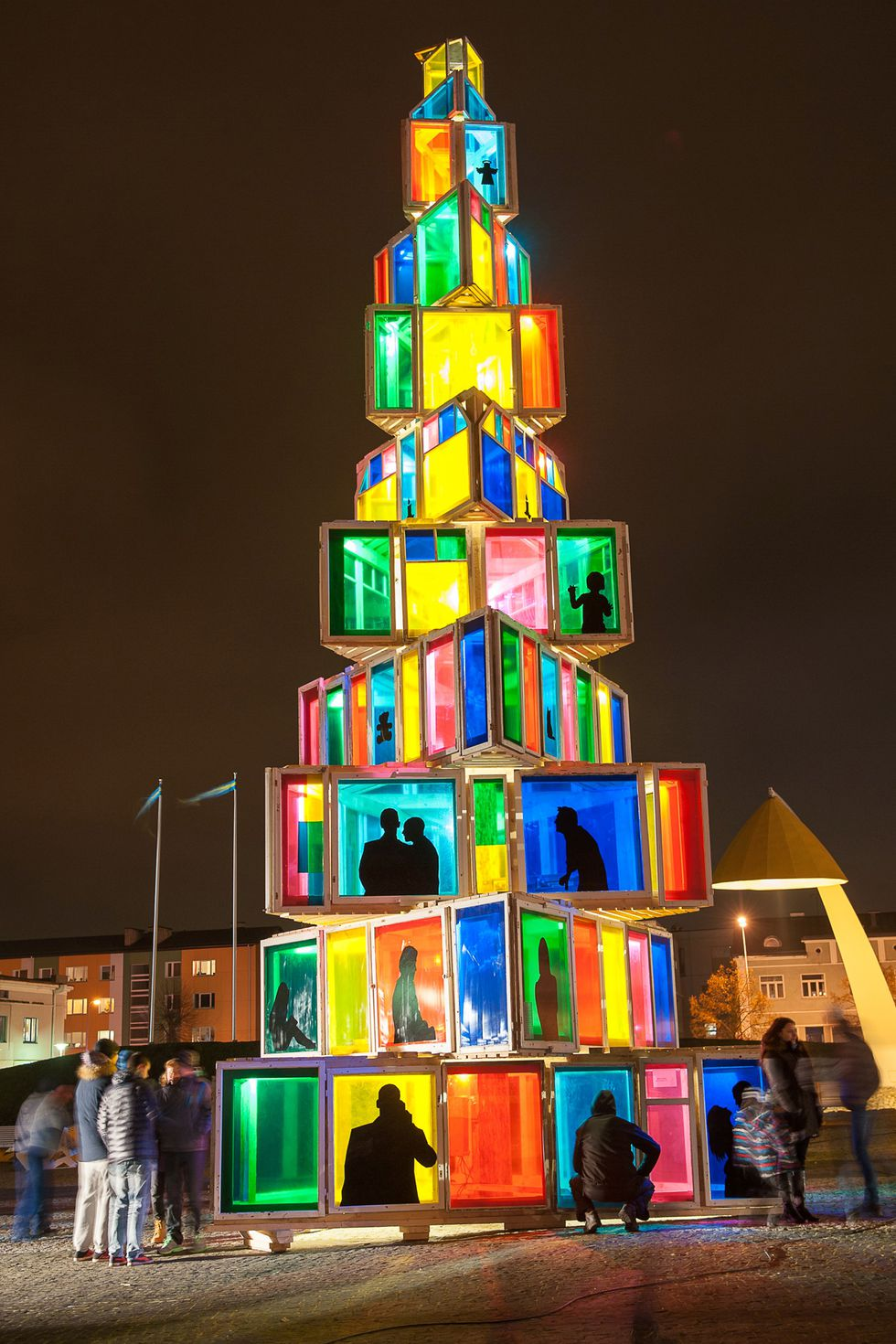 Rakvere Estonia Christmas Tree
