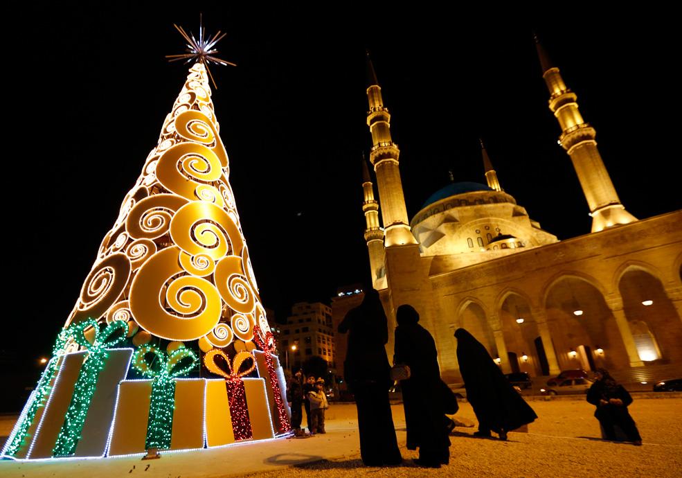 Beirut Lebanon Christmas Tree