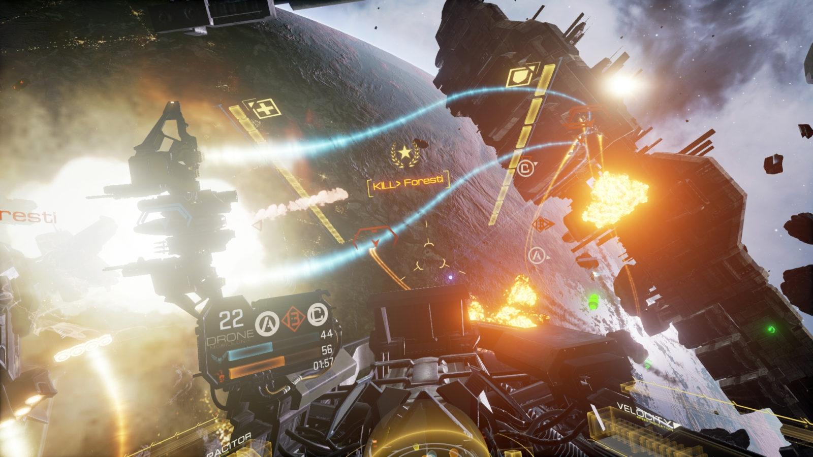 EVE: Valkyrie VR Game Rental
