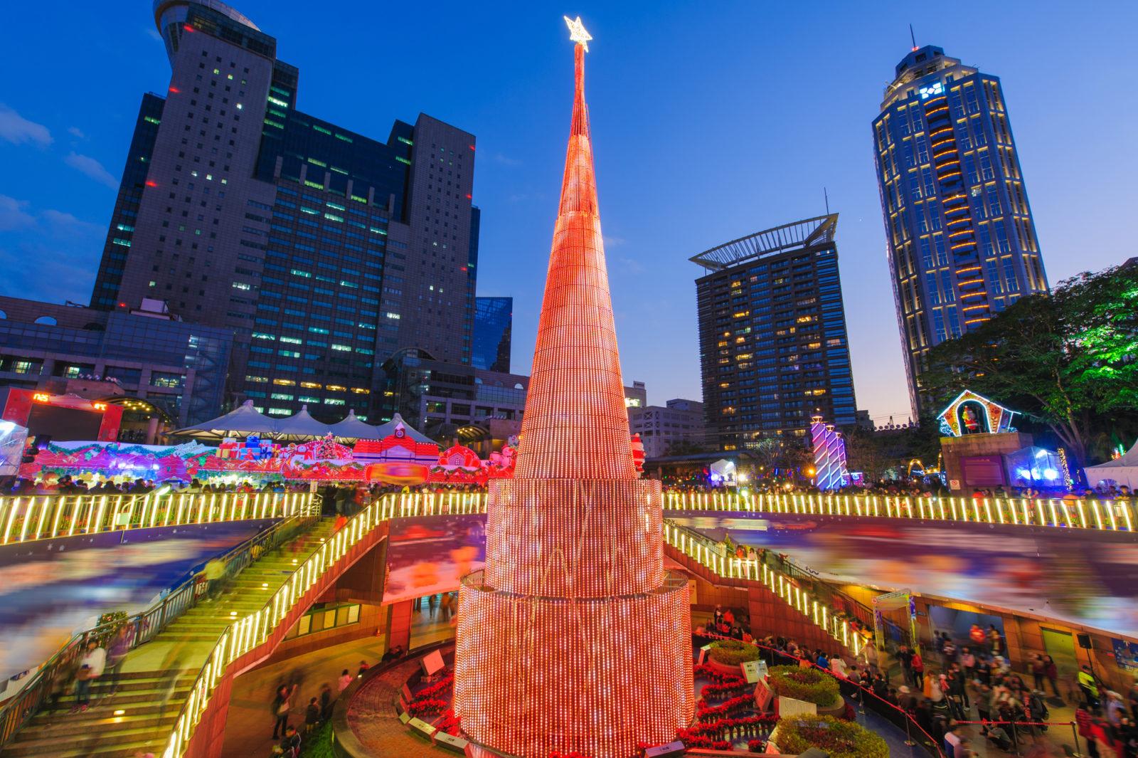 Taipei Taiwan Christmas Tree