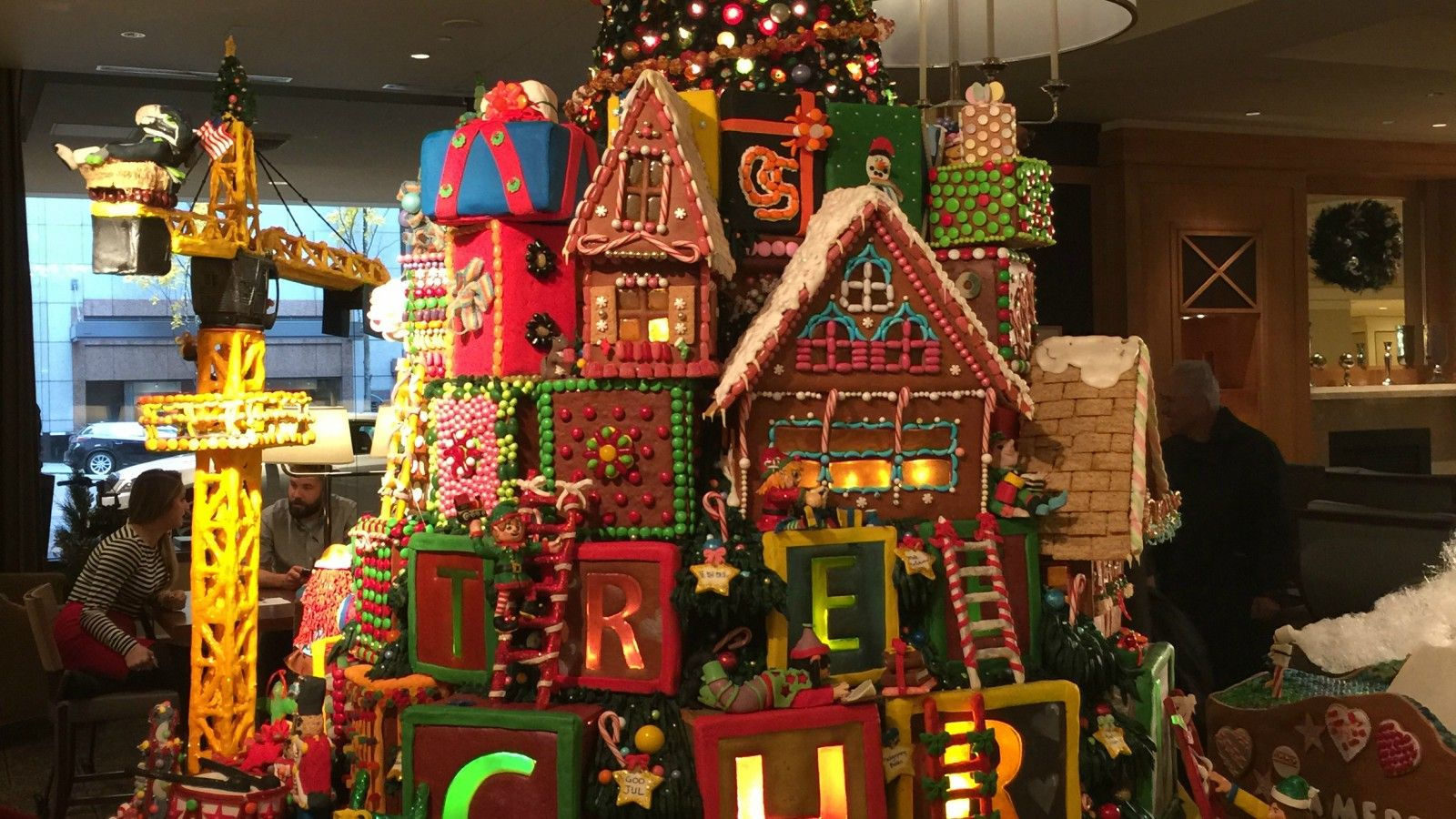 The Sheraton's Gingerbread Village