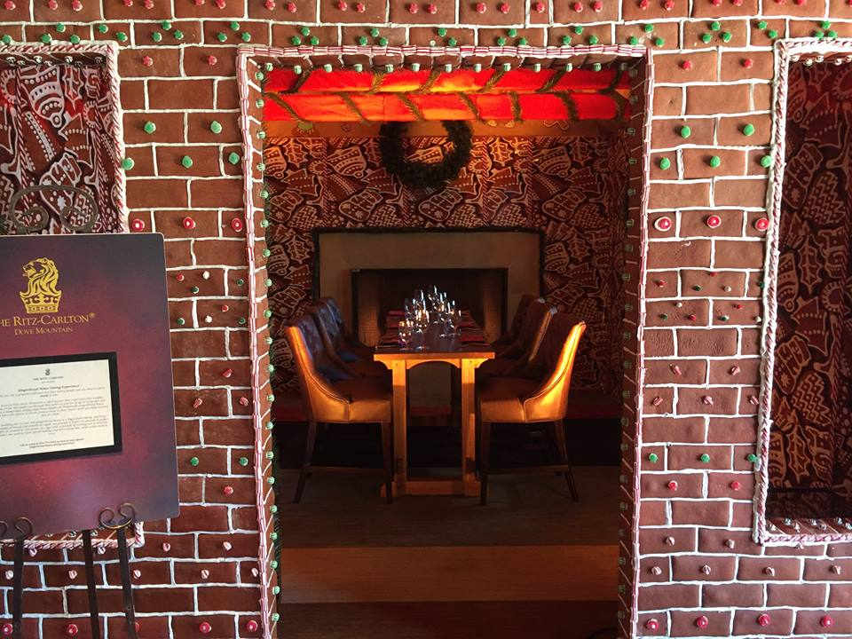 Gingerbread Dining Room