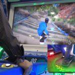 Raw Thrills X Games Snowboarder Arcade Unit