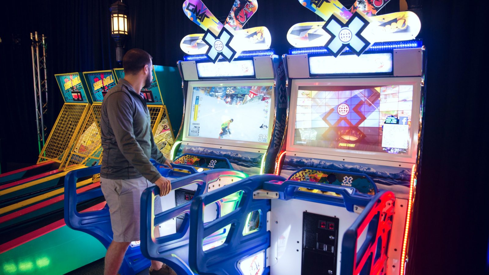 Raw Thrills X Games Snowboarder Arcade Game Rental