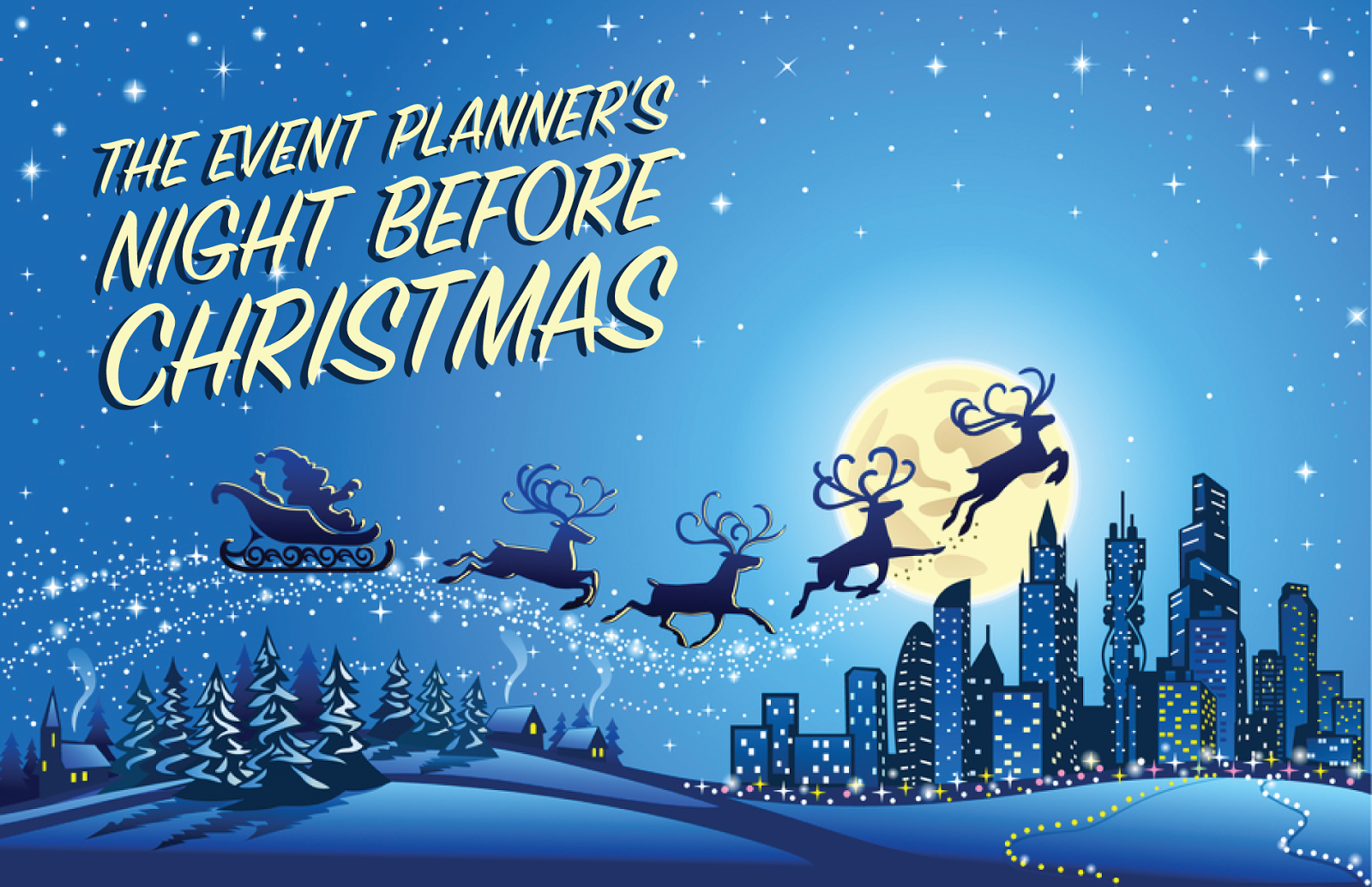 The Event Planner's Night Before Christmas