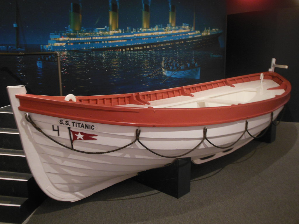 Titanic rescue boat