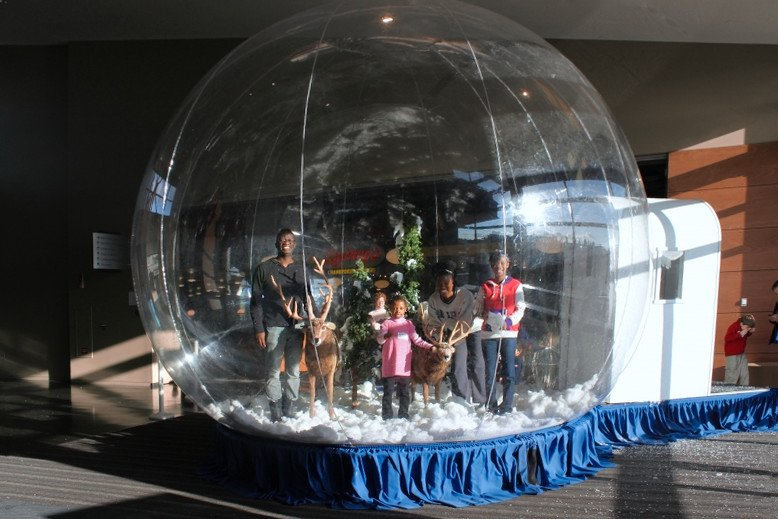 10 Brilliant Uses for a Giant Snow Globe
