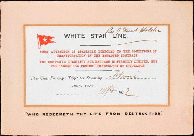 Titantic party invitations