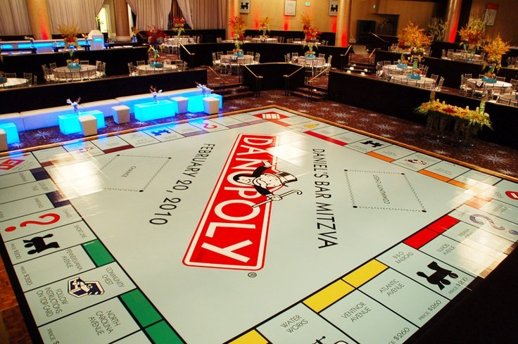 Creative Event Themes Monopoly Idea National Event Pros