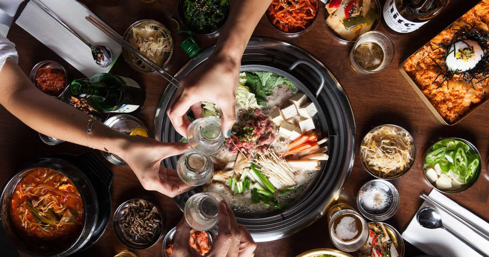 korean hotpot food
