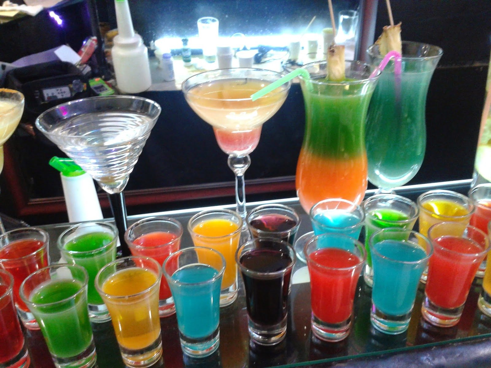 monopoly themed drinks