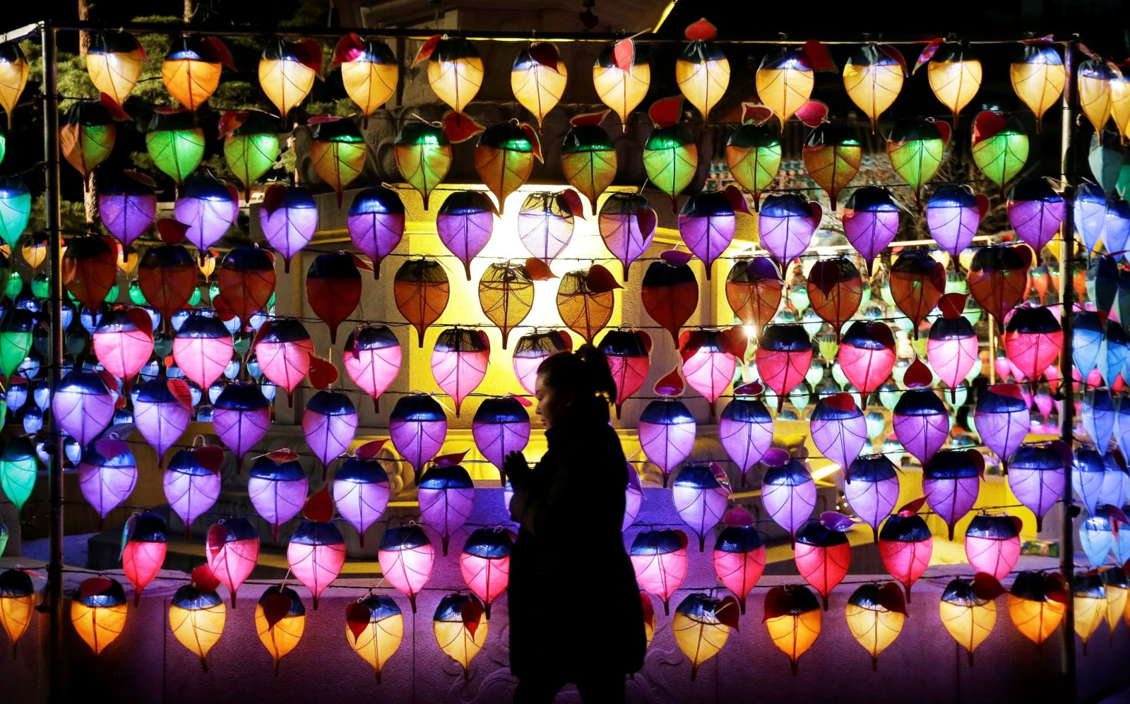 Rainbow Lanterns Seoul