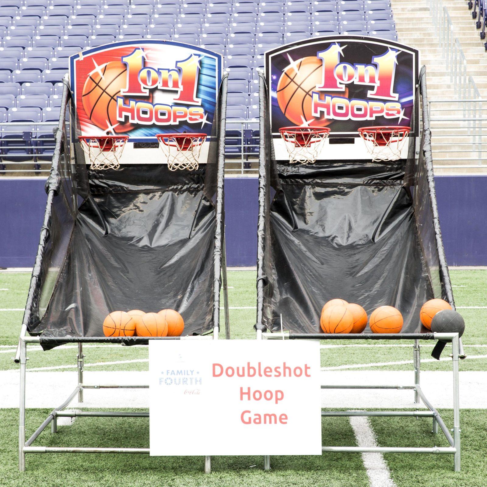Double Shot Hoop Game