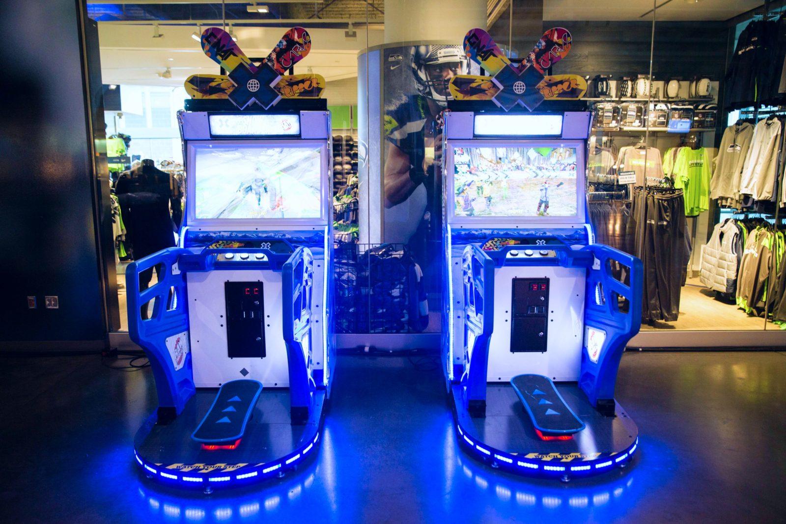 Snowboarding Arcade Game