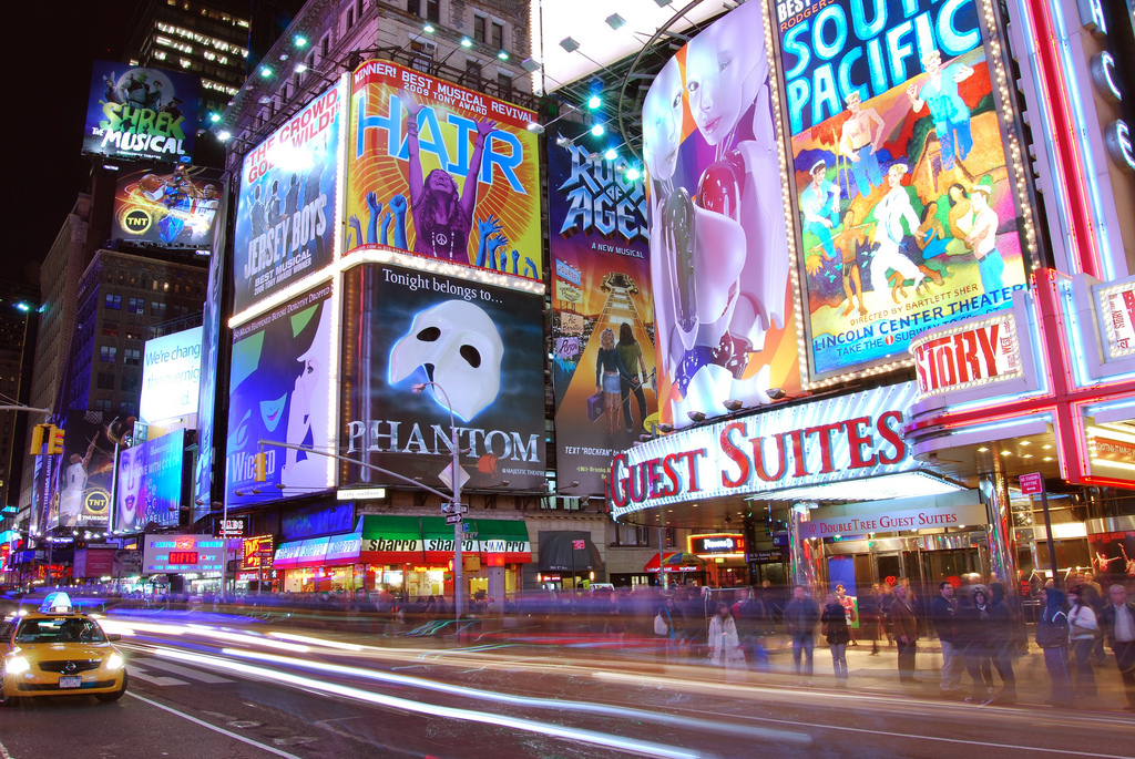Perfect Creative Event Themes. Times Square