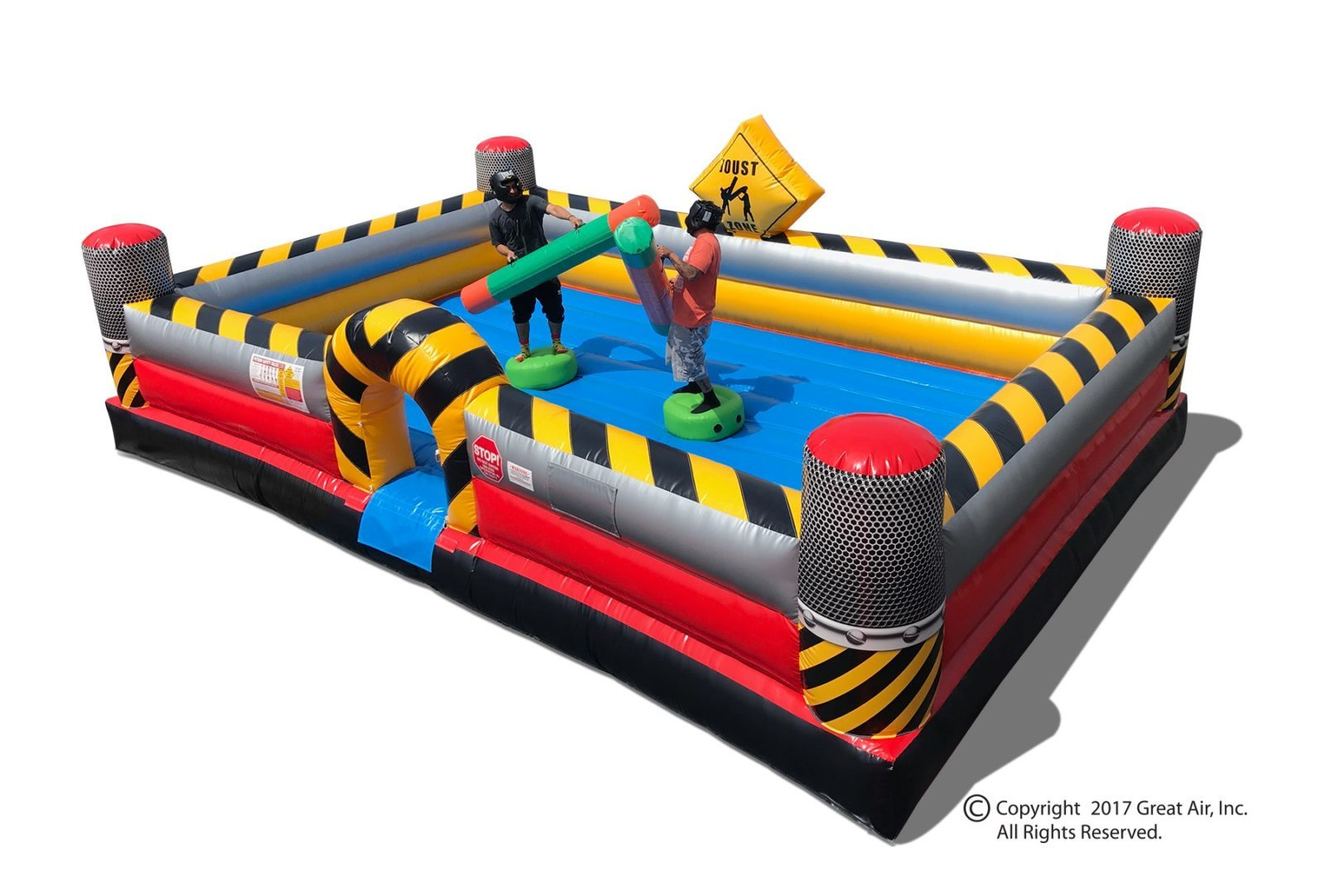 new inflatable jousting rental