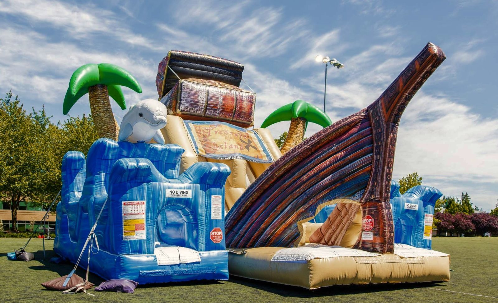 Treasure Island Obstacle Course