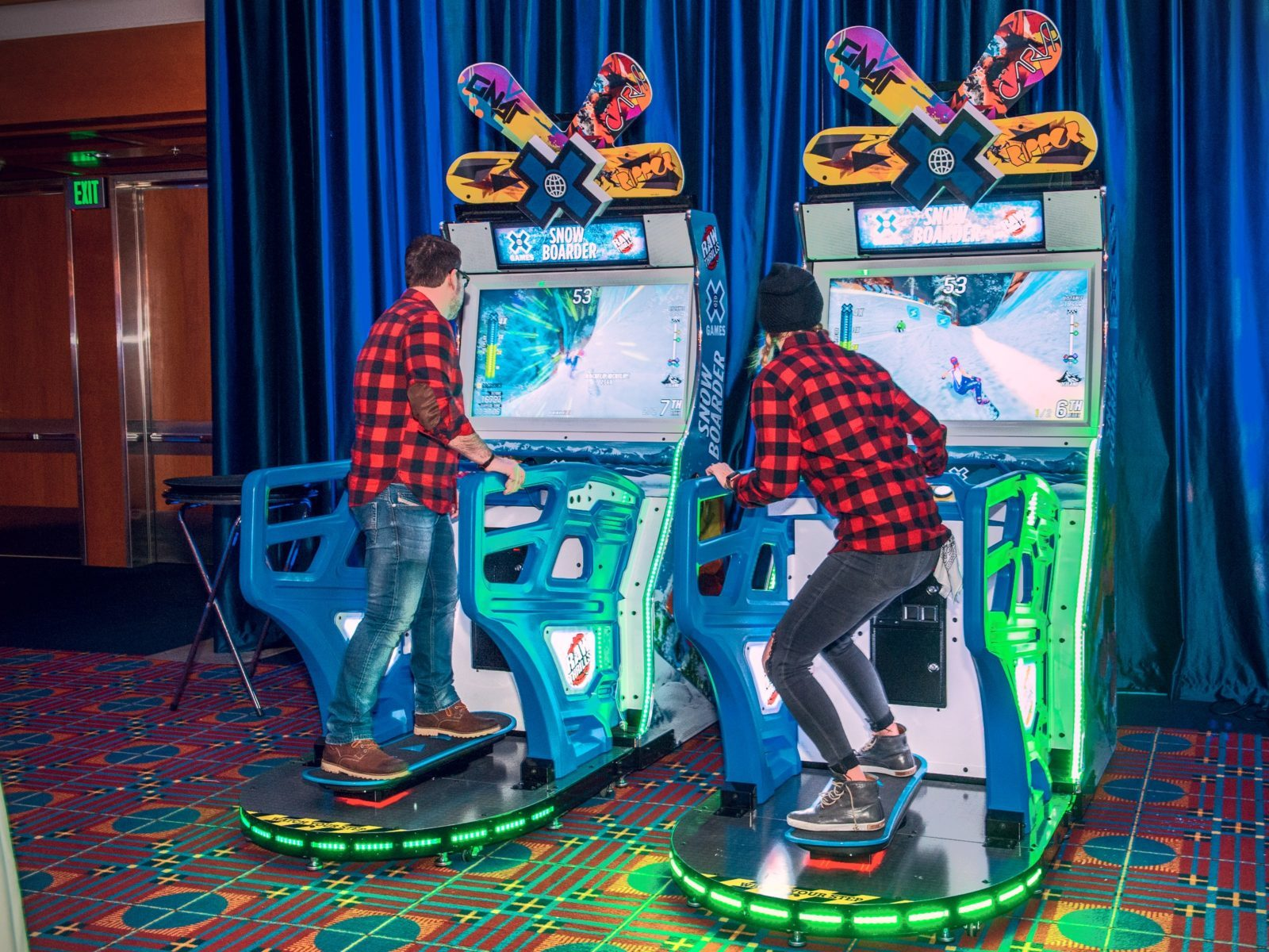 Snowboarder Arcade Game rental