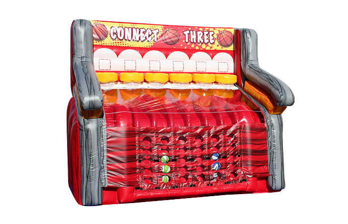 connect three basketball toss rental