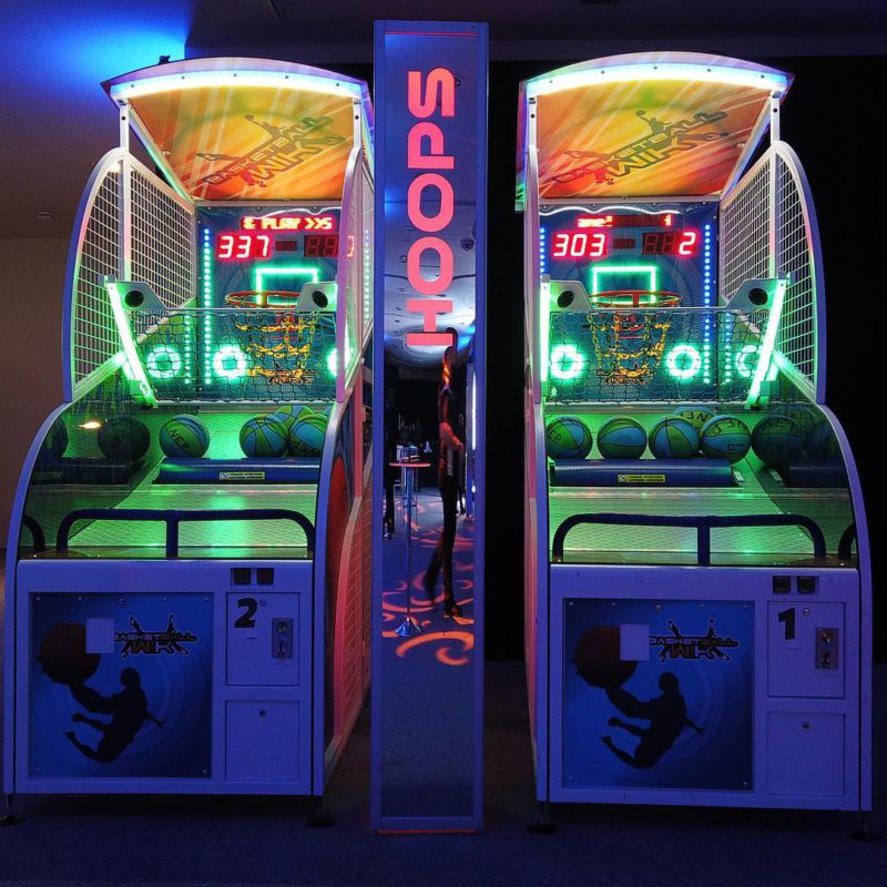 basketball arcade game rental