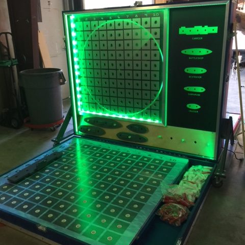 giant LED battleship rental