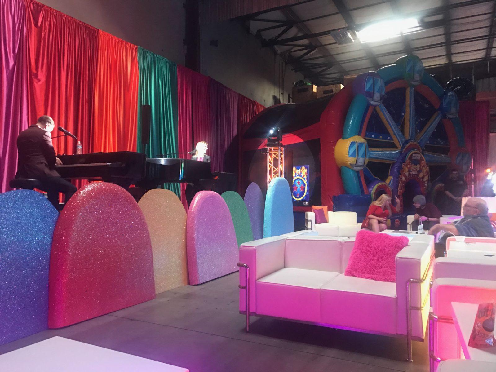 Candyland event decorations