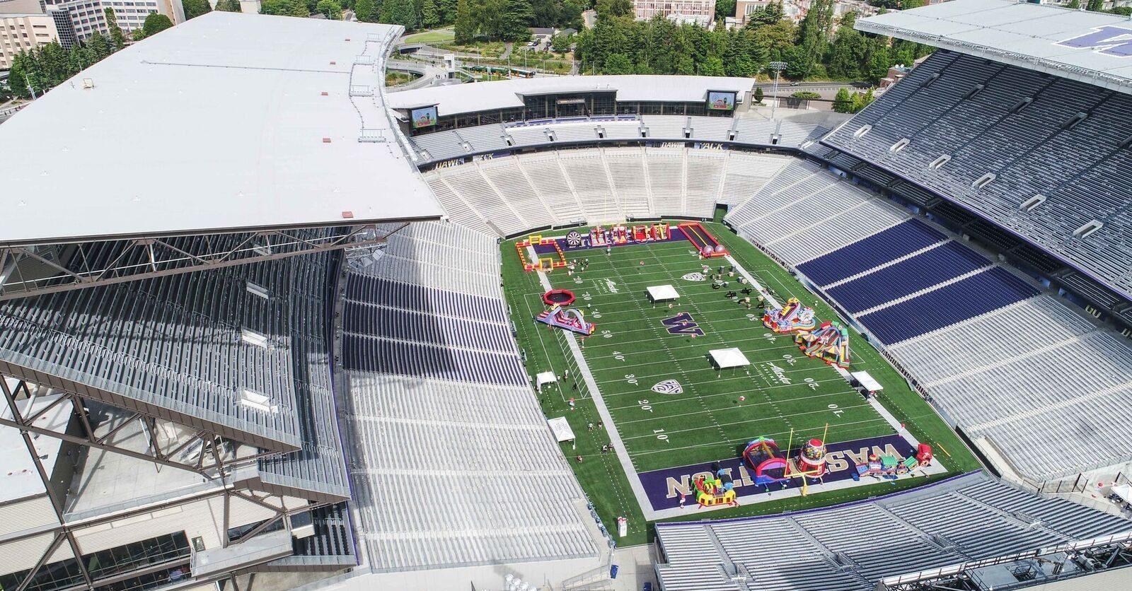 company picnic stadium venue