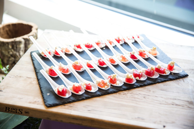 tomato shooter appetizers