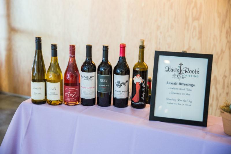 wine bar decor