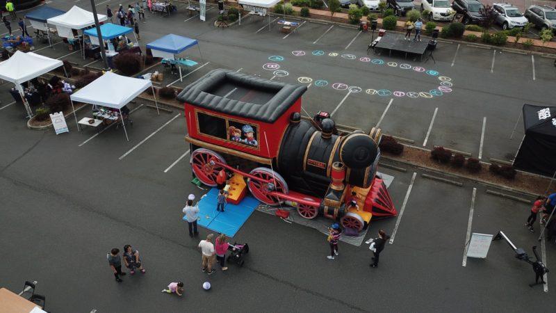 Train Combo Bounce House