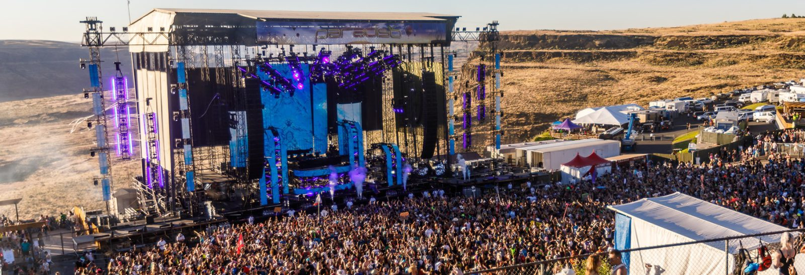 Paradiso music festival main stage