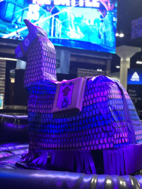 Custom Fortnite Llama Rental