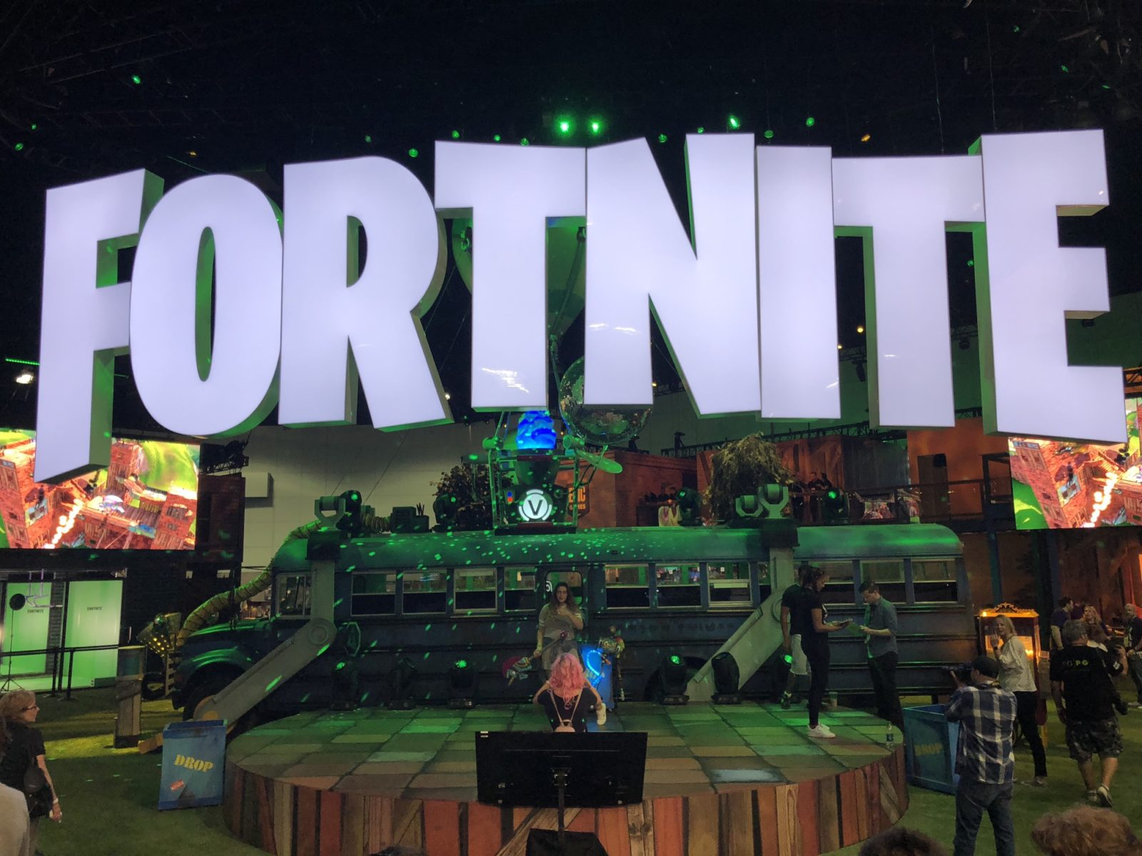 Epic Games Fortnite Booth Display