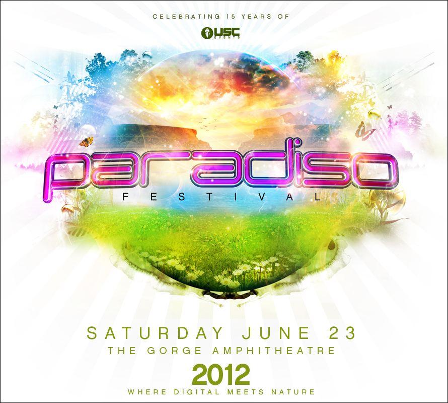 Paradiso Music Festival 2012 Poster