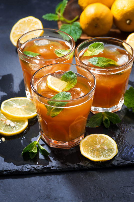 iced tea vertical