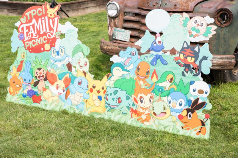 Pokemon Themed Family Picnic