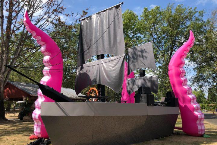 Pink Tentacles