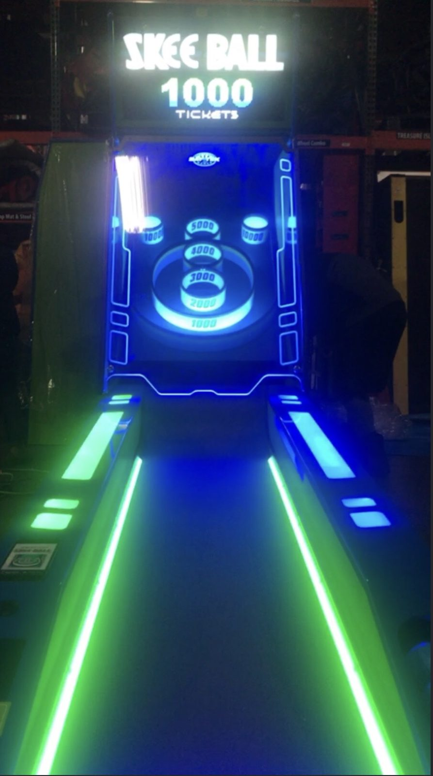 Skee ball machine rental