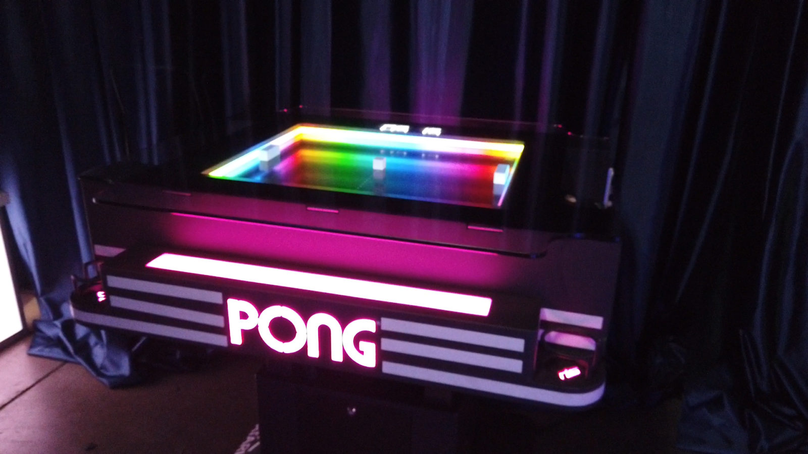 atari pong table rental