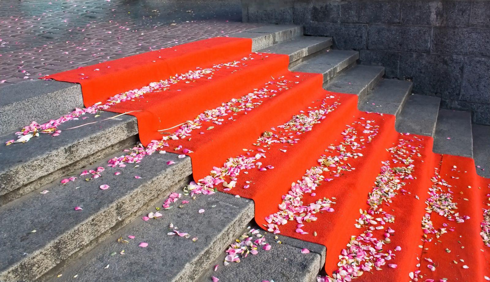 fancy red carpet