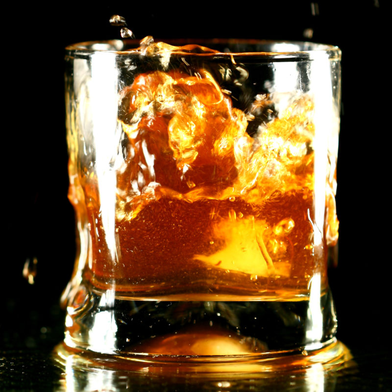 fancy whiskey glass