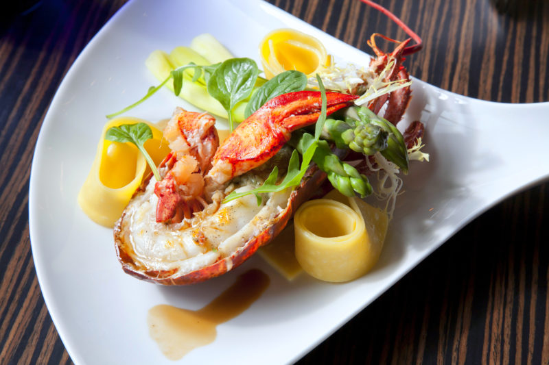 fancy lobster dinner