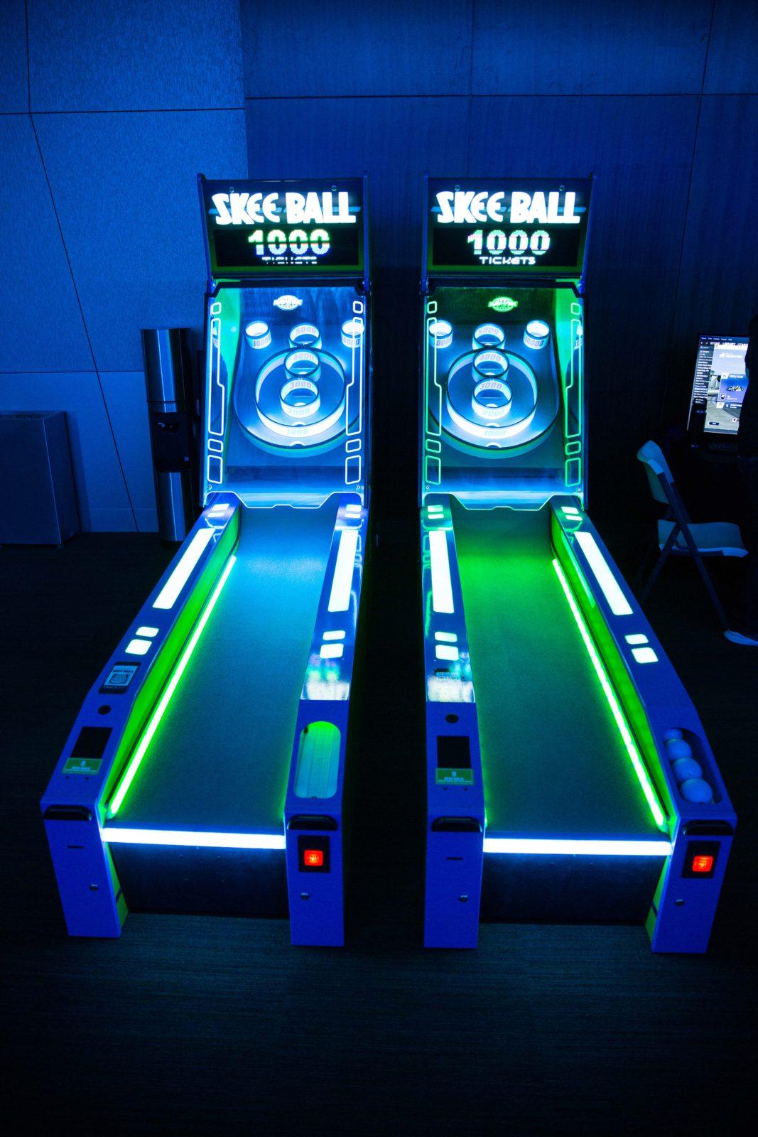 glow in the dark arcade games